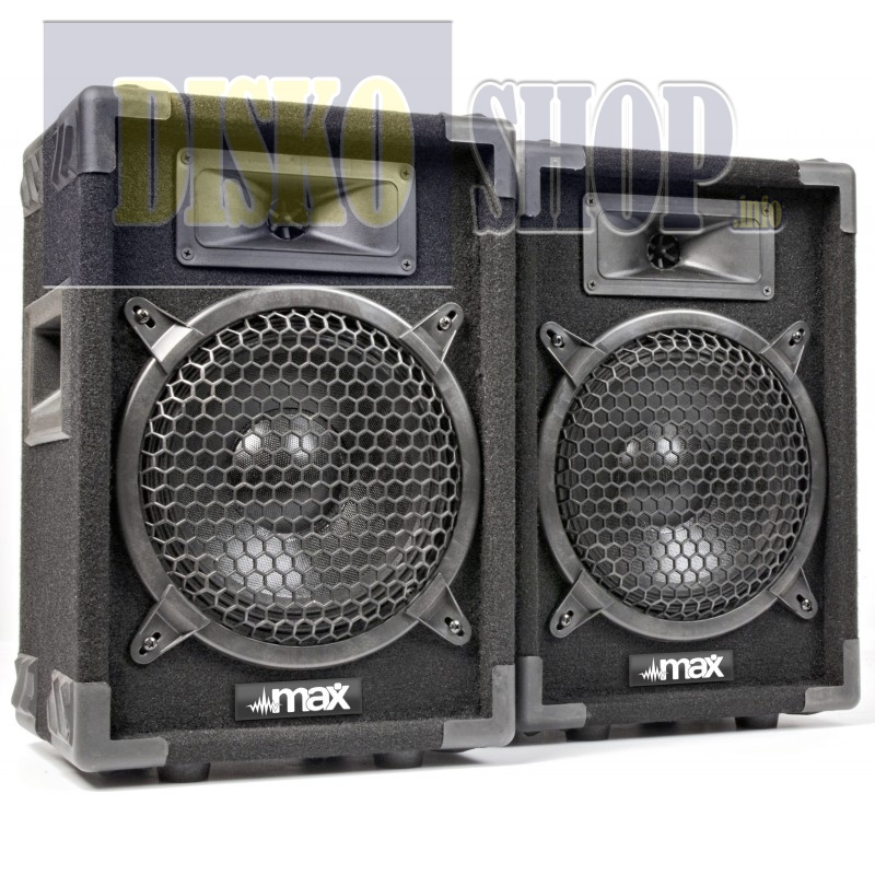 """Max MAX8Pair Speakerset 8""""-400W"""