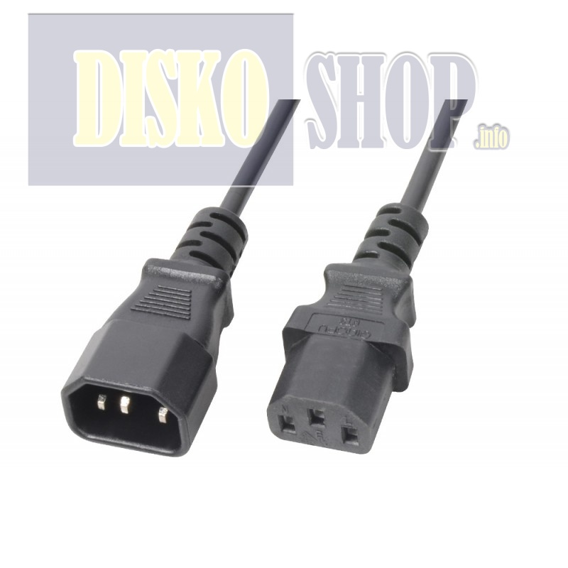 PD Connex IEC Extension Cable Male - Female 2,0 meter