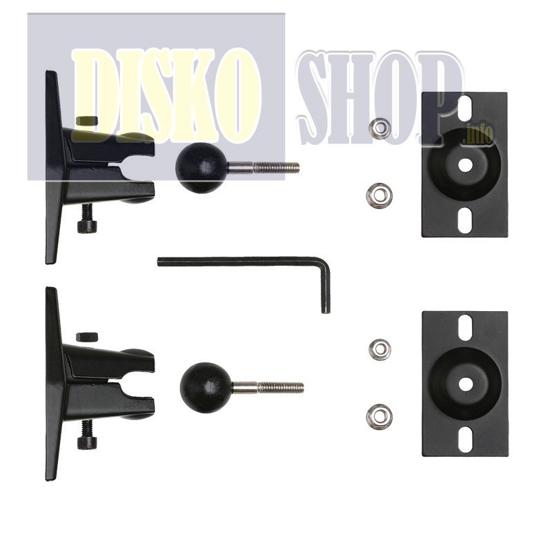 Power Dynamics PD ISPB Bracket mounting Kit (Pair)